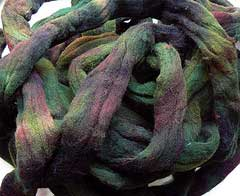 Hand-dyed Wool Roving, 1 lb