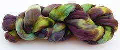 Hand-dyed Merino Spinning Fiber - Pavoreal
