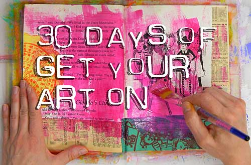30 Days of Get Your Art On