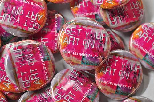 Get your art on buttons