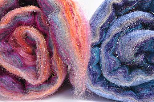 spinning fiber batts