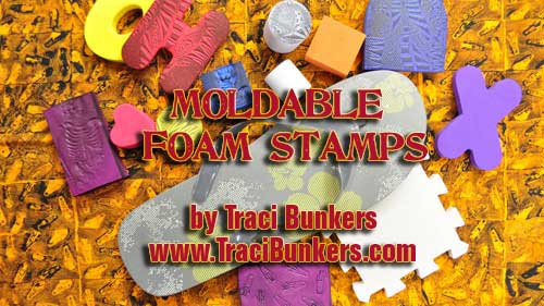 Moldable Foam Stamps Tutorial