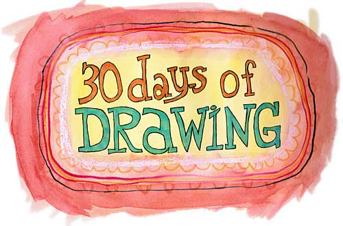 30 days of drawing