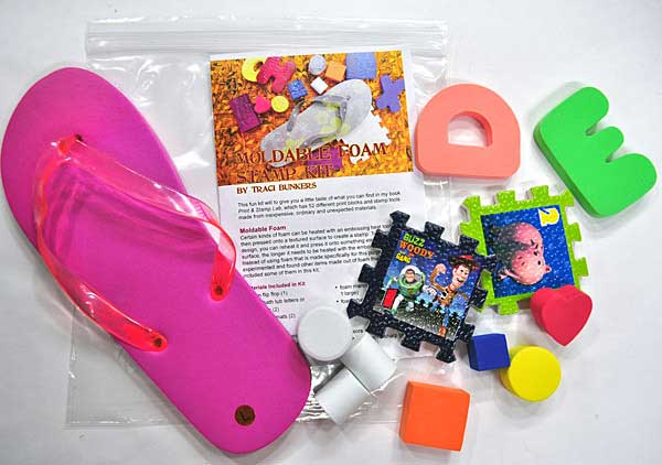 Moldable Foam Stamps Kit