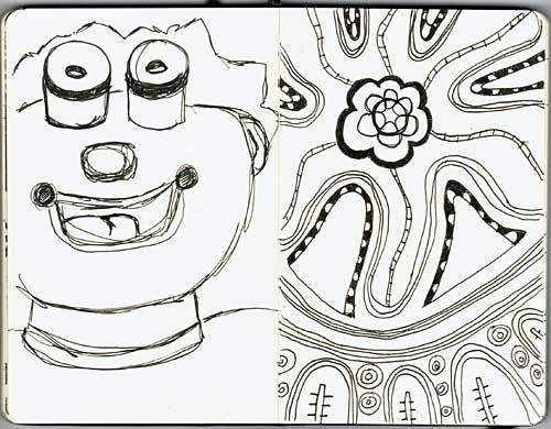 12.01.11 moleskine doodles