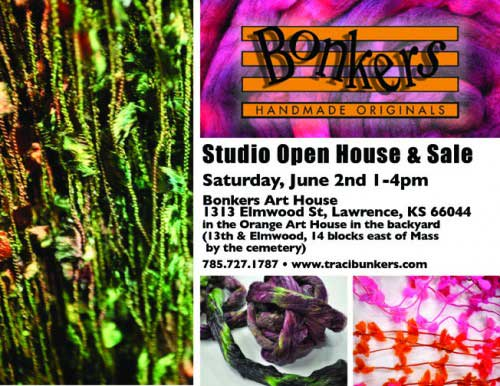 TraciBunkers.com - Studio Open House & Sale
