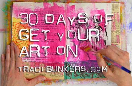 TraciBunkers.com - 30 days get your art on