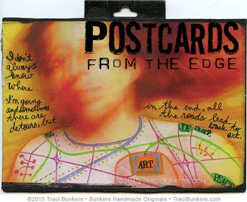 TraciBunkers.com - Postcards From the Edge Workshop at the Lawrence Arts Center