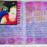 TraciBunkers.com - 07.22.12b self-care journal page