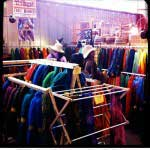 TraciBunkers.com - my booth at the Estes Park Wool Market