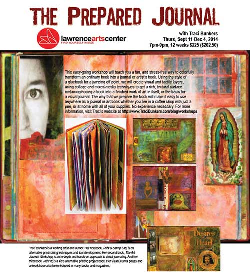 TraciBunkers.com - The Prepared Journal flyer2
