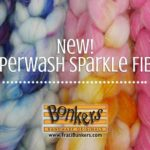 TraciBunkers.com - Hand-dyed Superwash Sparkle Spinning Fiber