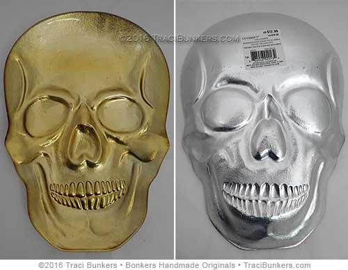 TraciBunkers.com - skull platter