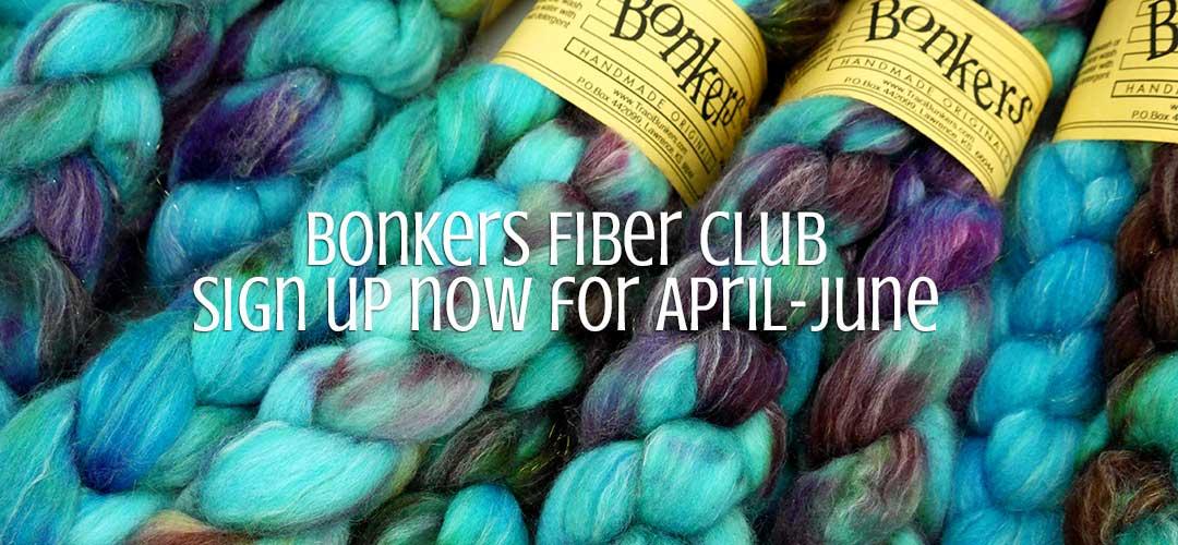 TraciBunkers.com - Bonkers Fiber Club: April-June 2017
