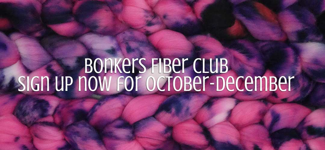 TraciBunkers.com - Bonkers Fiber Club - October-December