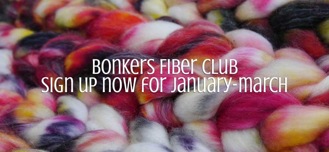 TraciBunkers.com - Bonkers Fiber Club - January-March